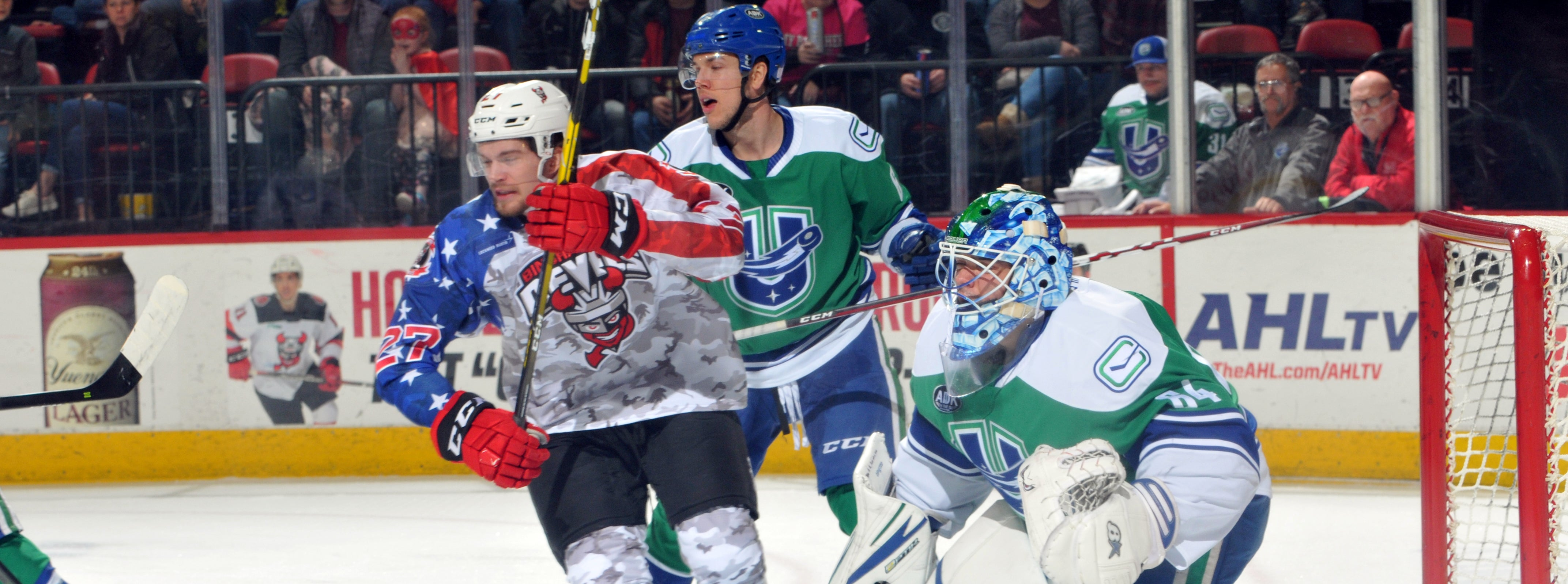 COMETS COME FROM BEHIND FOR DRAMATIC OVERTIME TRIUMPH