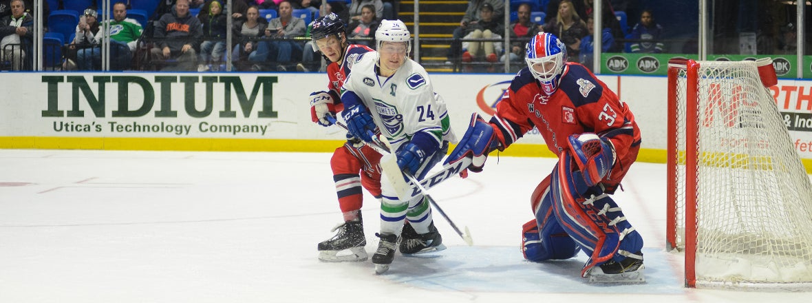 COMETS FEEL THE WOLF PACK'S BITE