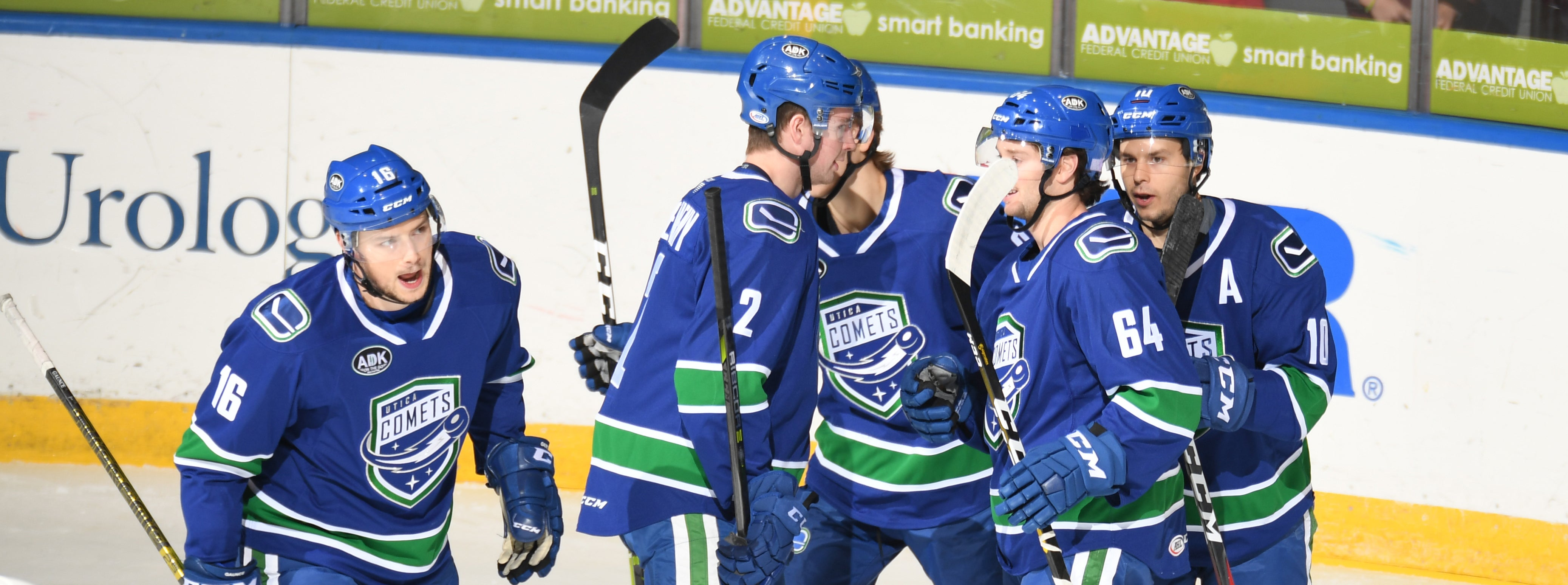 COMETS EARN DIVISIONAL WIN OVER AMERKS