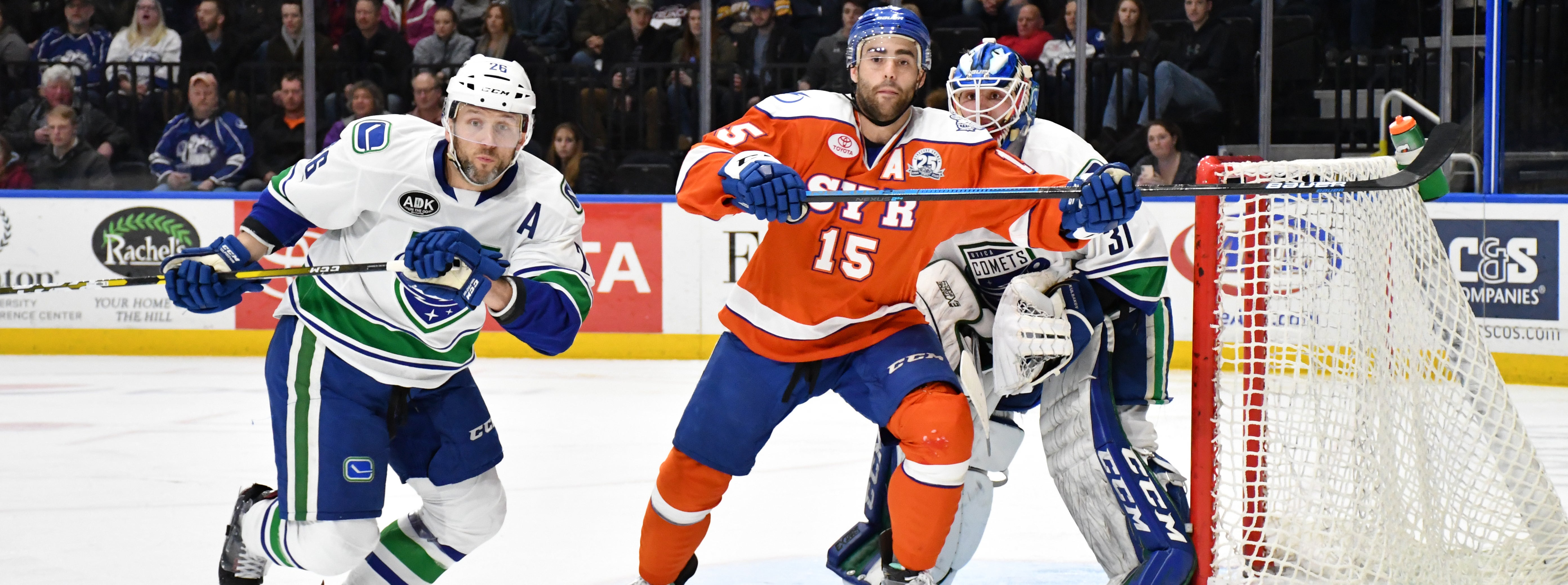 COMETS BESTED BY CRUNCH