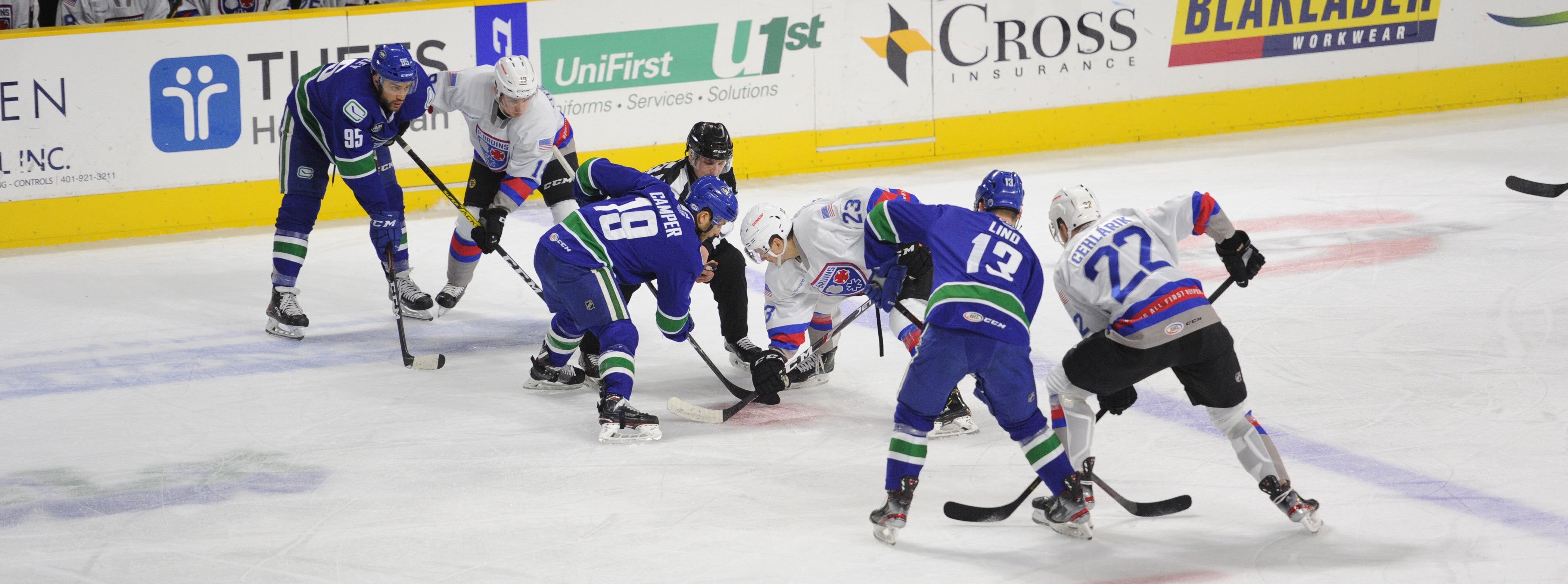 COMETS TIE LATE, PICK UP POINT IN PROVIDENCE