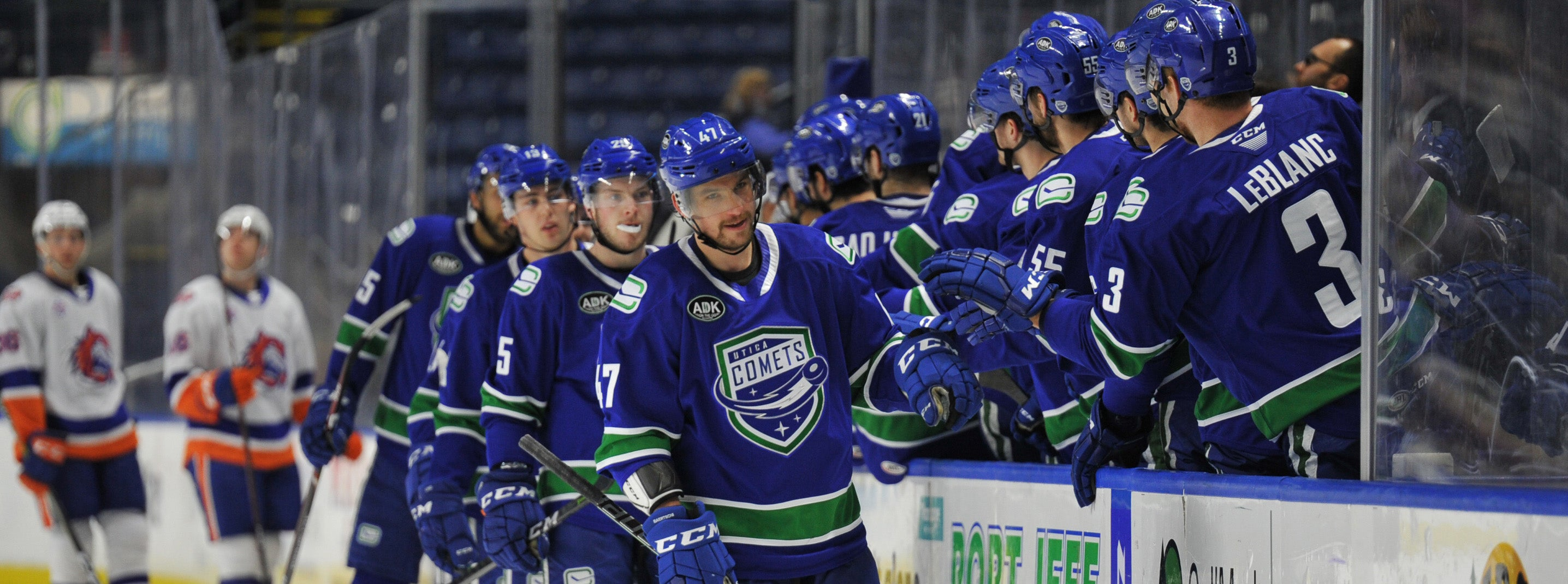 THIRD PERIOD FLURRY HELPS COMETS COMES FROM BEHIND