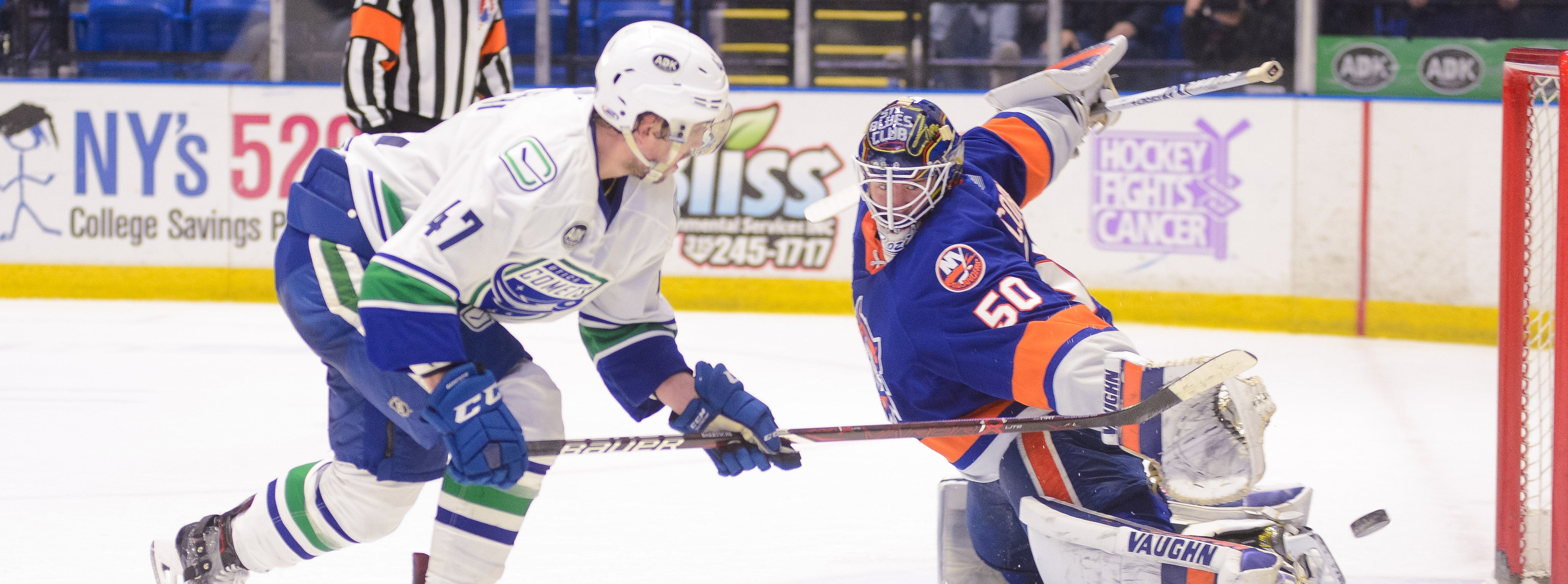 COMETS TAKE ON SOUND TIGERS