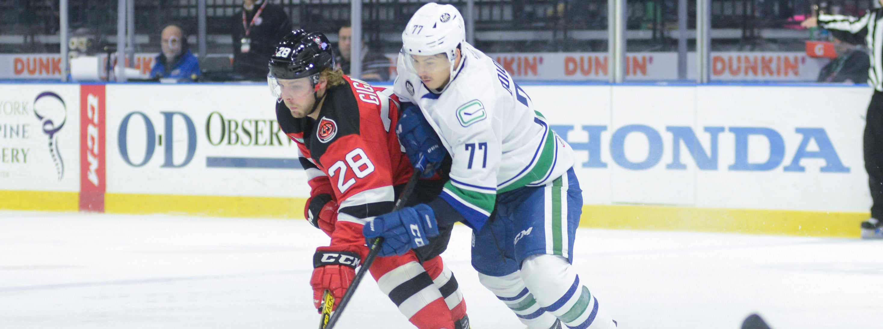COMETS TRAVEL TO BINGHAMTON TO DUEL WITH DEVILS