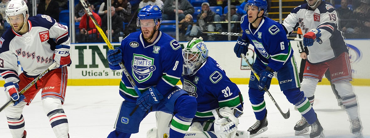 COMETS BATTLE BACK TO EARN POINT, FALL SHORT IN OVERTIME