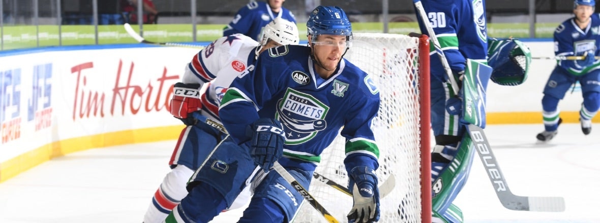COMETS LOOK TO CONTINUE ROAD POINT STREAK AT ROCHESTER