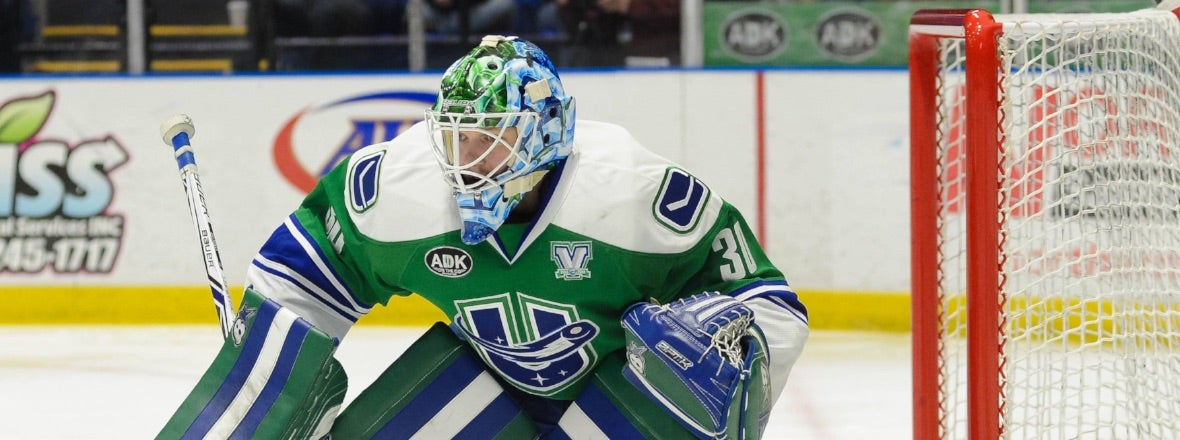 CANUCKS REASSIGN THATCHER DEMKO TO THE COMETS