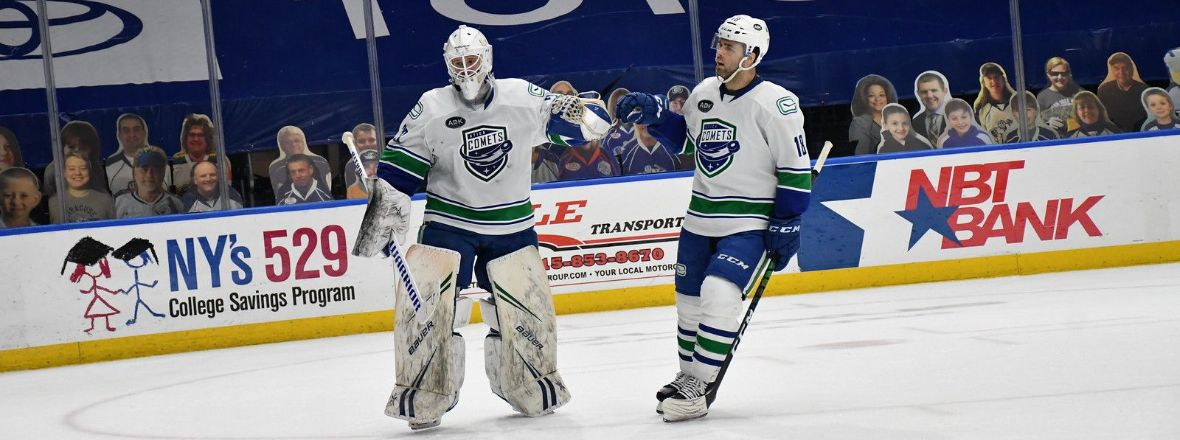 ARSENEAU'S TWO GOALS HELP COMETS TOPPLE CRUNCH, WIN 4-2