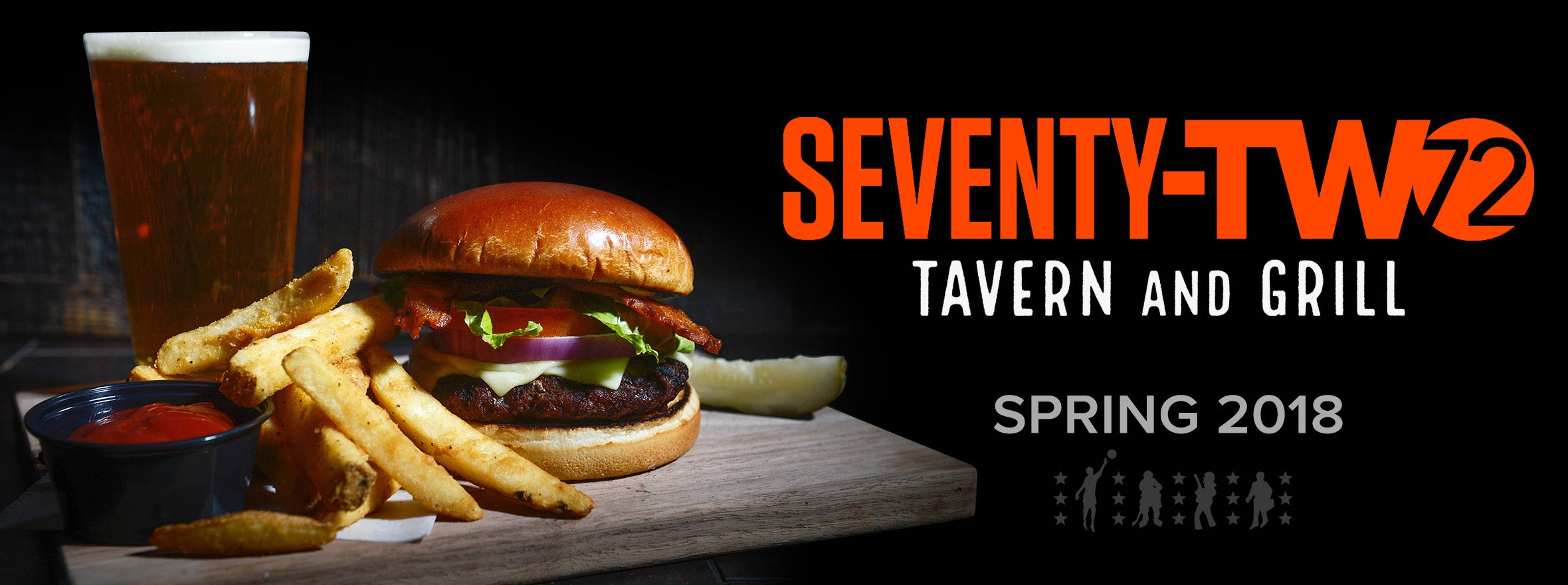 72 TAVERN & GRILL COMING THIS SPRING