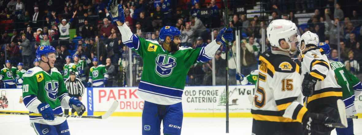 COMETS COMPLETE WEEKEND IN PROVIDENCE