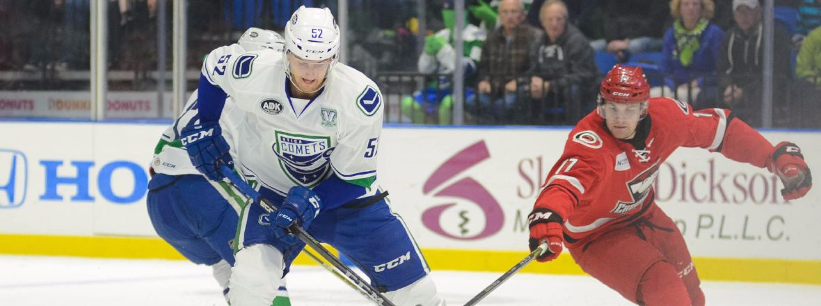 CANUCKS REASSIGN PHILIP HOLM TO THE COMETS