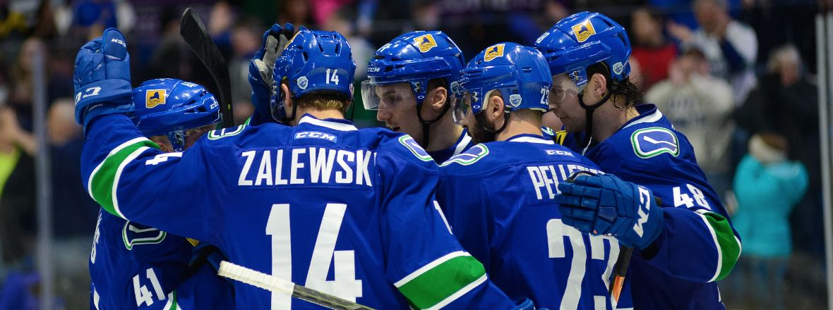 COMETS LOOK FOR WEEKEND SWEEP AS SOUND TIGERS VISIT