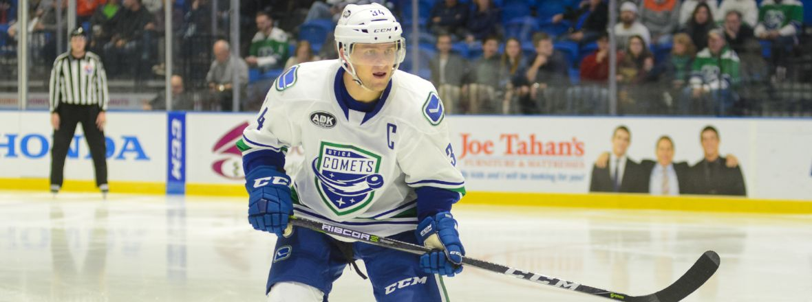 COMETS BATTLE MONSTERS FOR FIRST TIME SINCE 2014-15