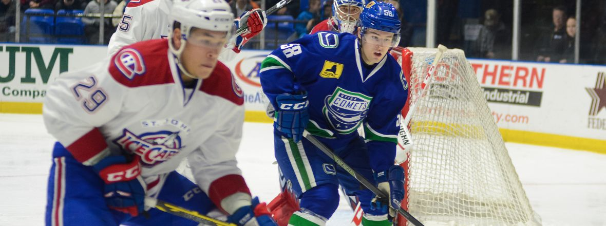 PLAYOFF STAKES HIGH TODAY AGAINST ICECAPS