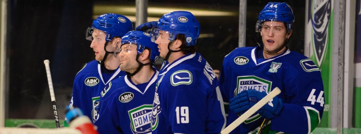 COMETS EXTEND POINT STREAK TO 12 GAMES WITH VICTORY