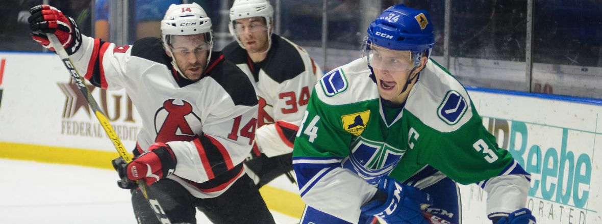 COMETS DUEL WITH DEVILS THIS AFTERNOON