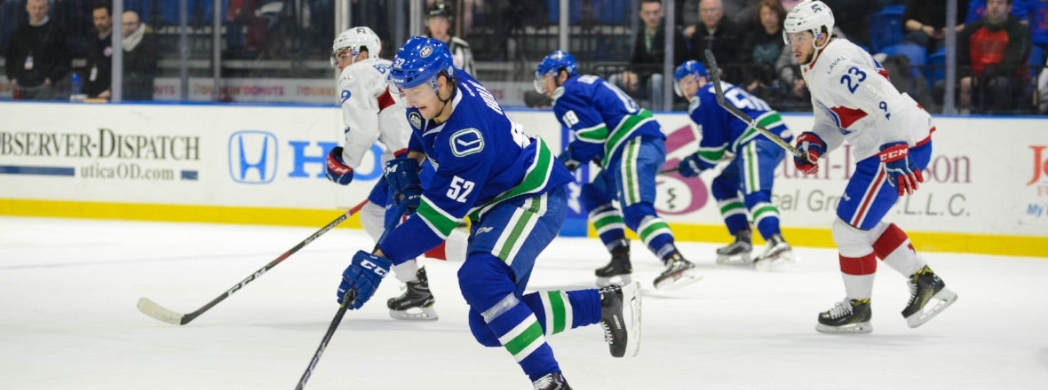 COMETS KICKOFF FOUR-GAME HOMESTAND AGAINST LAVAL