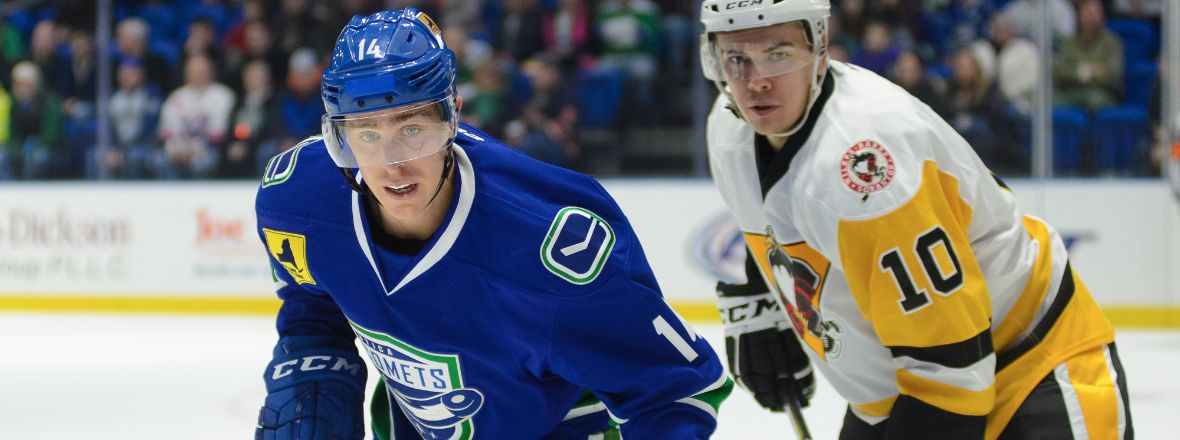 COMETS LOOK TO REBOUND AGAINST PENGUINS TODAY