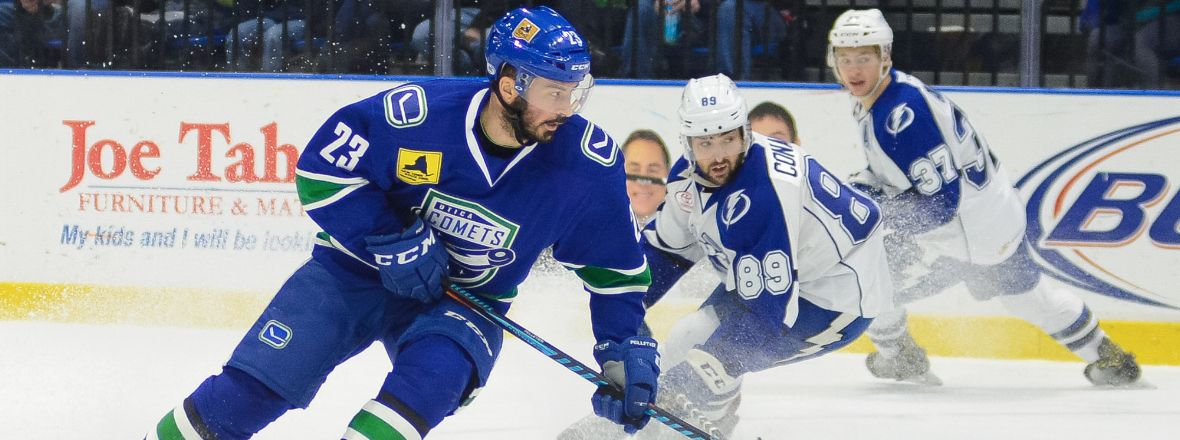 COMETS LOSE TO CRUNCH, GALAXY CUP SERIES EVENED