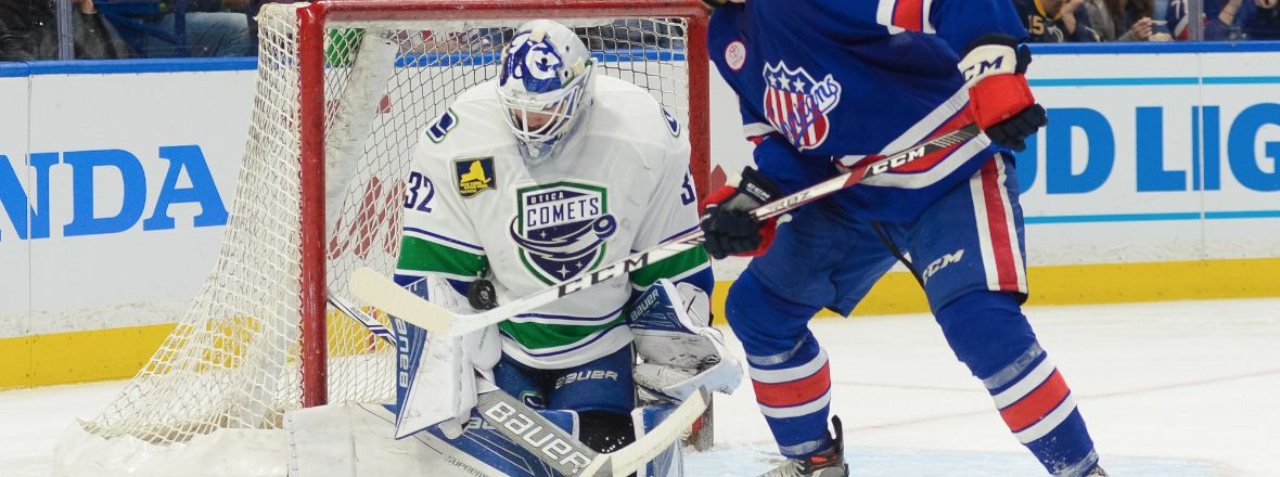 CANUCKS REASSIGN THREE PLAYERS TO THE COMETS