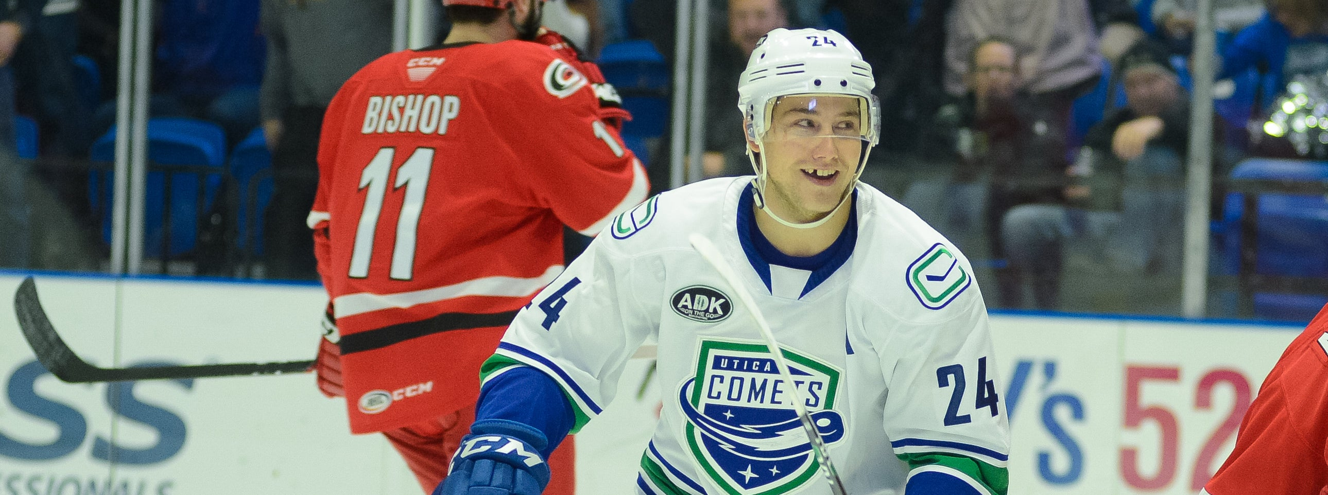 BOUCHER NAMED CCM/AHL PLAYER OF THE MONTH