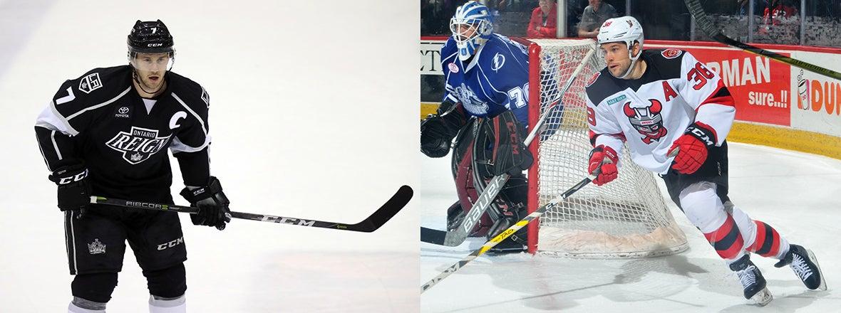 BRACKEN KEARNS, BRETT SUTTER NAMED PLAYING CAPTAINS FOR 2018 AHL ALL-STAR CLASSIC