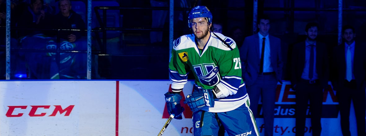CANUCKS RECALL CENTER MICHAEL CHAPUT FROM COMETS