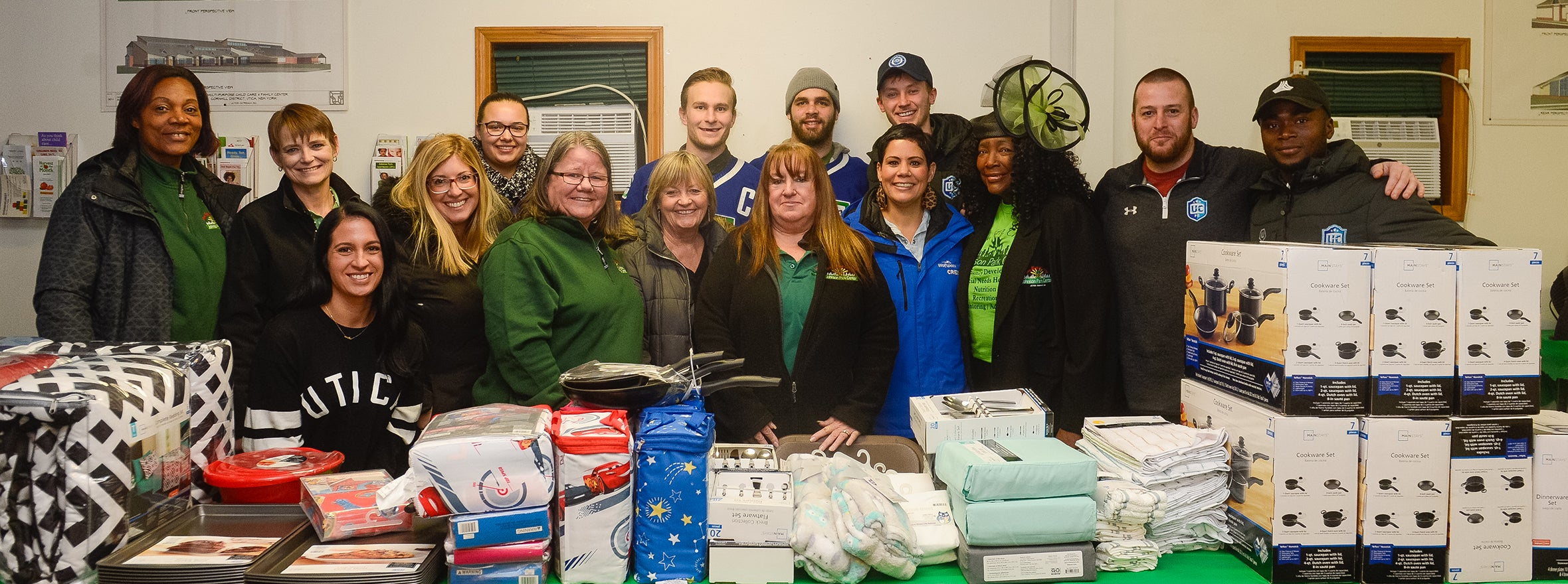 CREE, COMETS, AND UTICA CITY GIVE BACK TO JOHNSON PARK