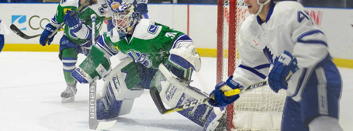 THATCHER DEMKO SELECTED GOALTENDER OF THE MONTH