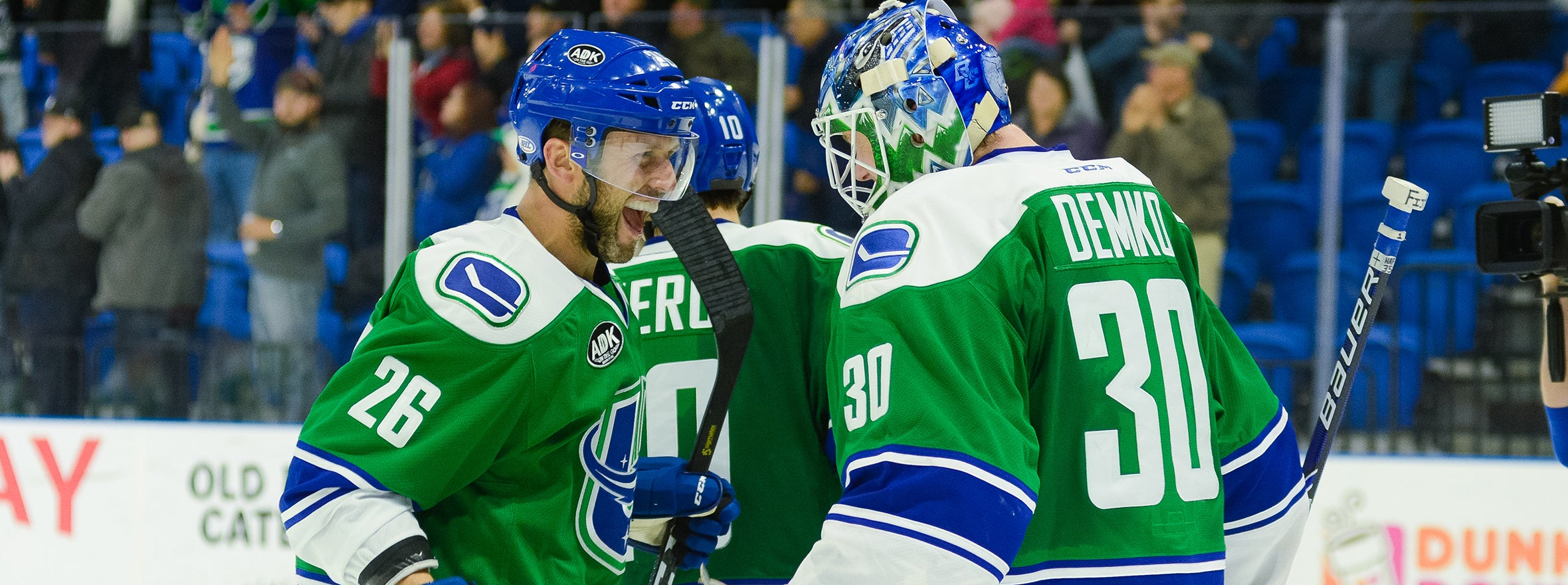 DEMKO, LATE SURGE LEAD COMETS TO VICTORY OVER LAVAL
