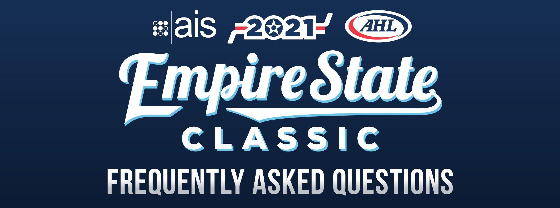 2021 AIS EMPIRE STATE CLASSIC FAQ