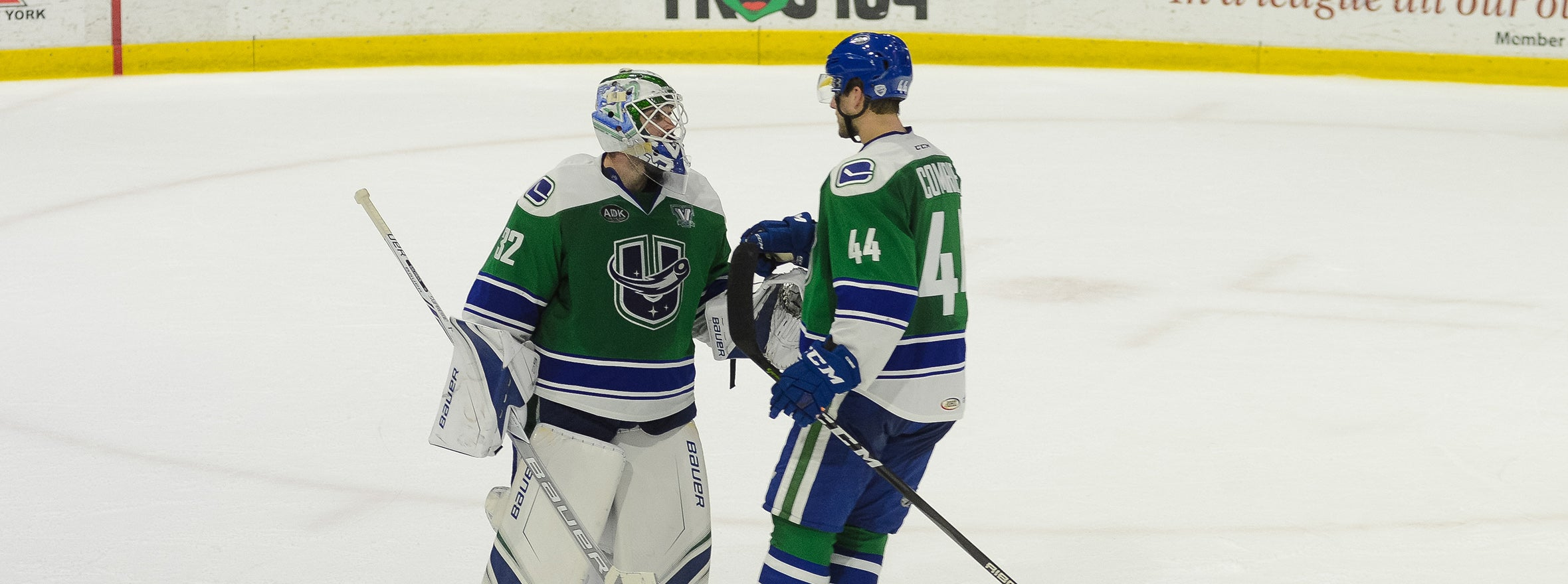 D'AOUST SCORES TWICE AS COMETS KISS HERSHEY GOODBYE