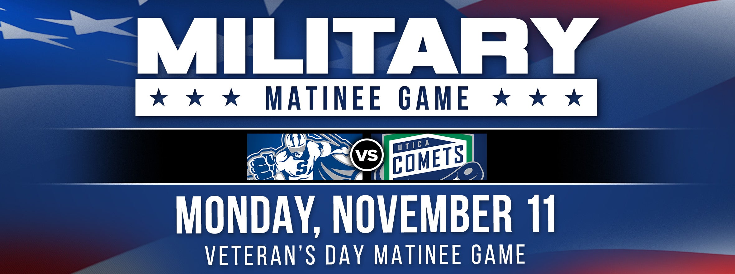 COMETS ANNOUNCE DETAILS OF MILITARY APPRECIATION DAY