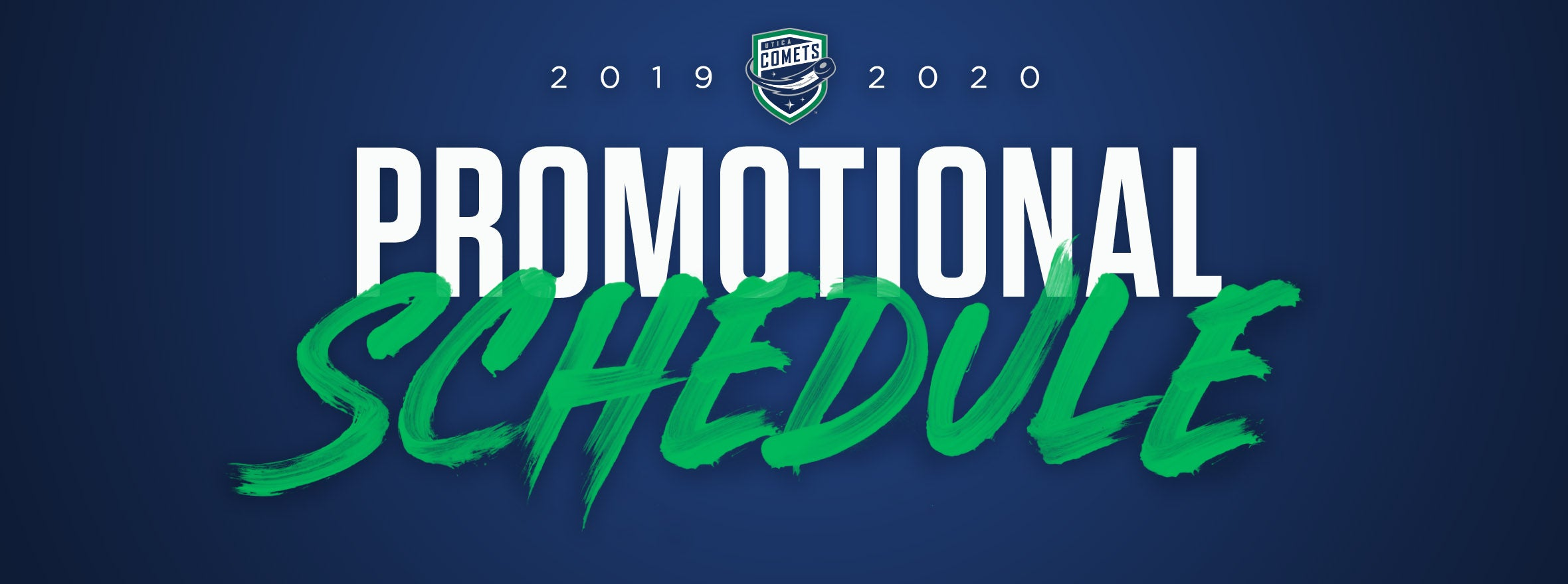 2019-20 PROMOTIONAL SCHEDULE
