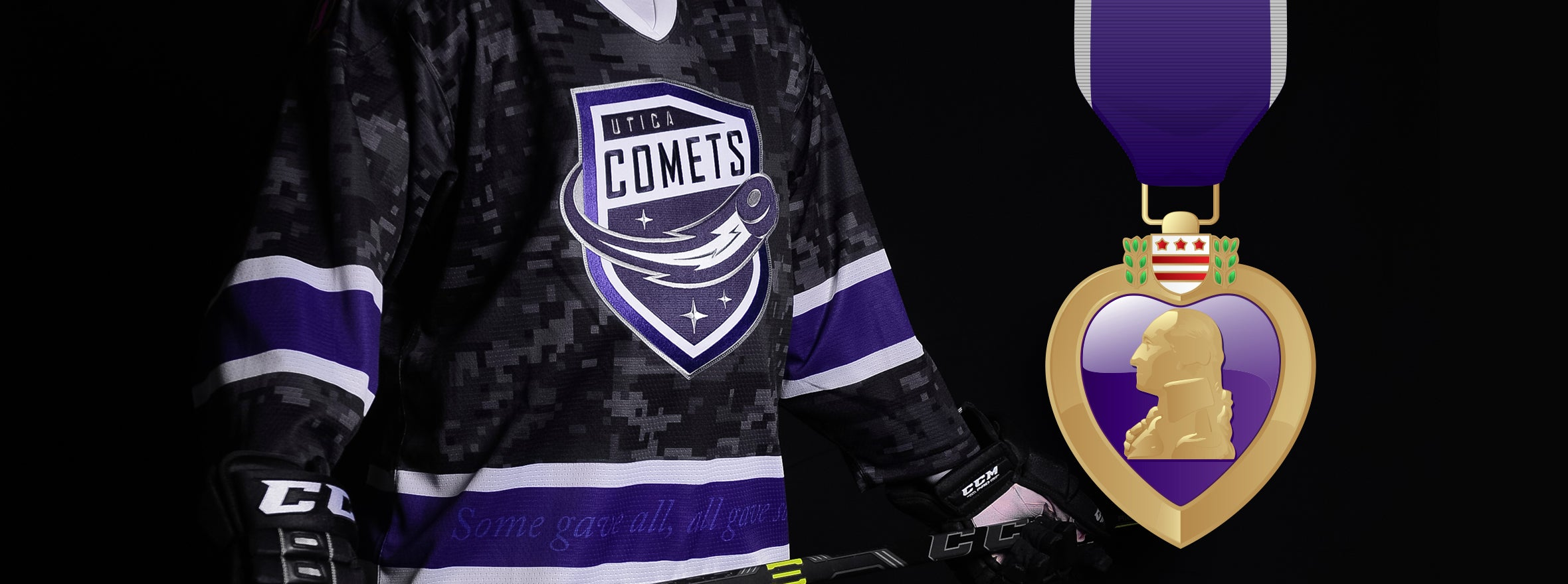 UTICA COMETS TO BE RECOGNIZED AS PURPLE HEART