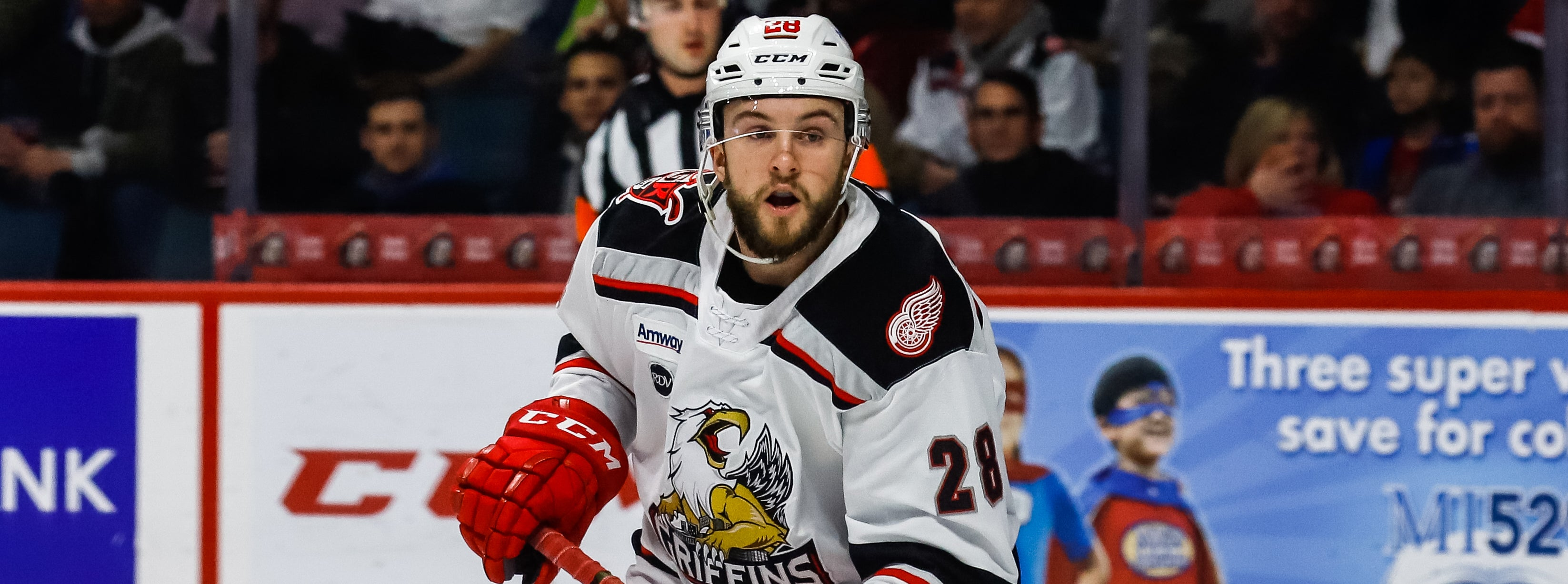 COMETS SIGN DYLAN SADOWY TO AHL CONTRACT