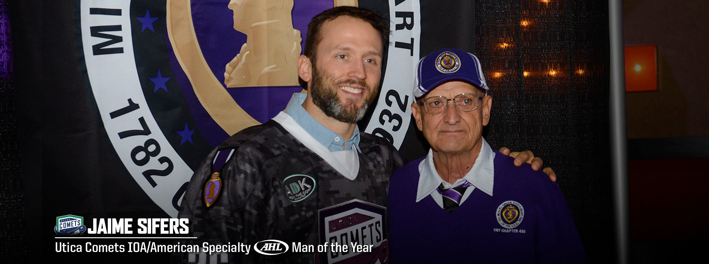 SIFERS NAMED COMETS MAN OF THE YEAR