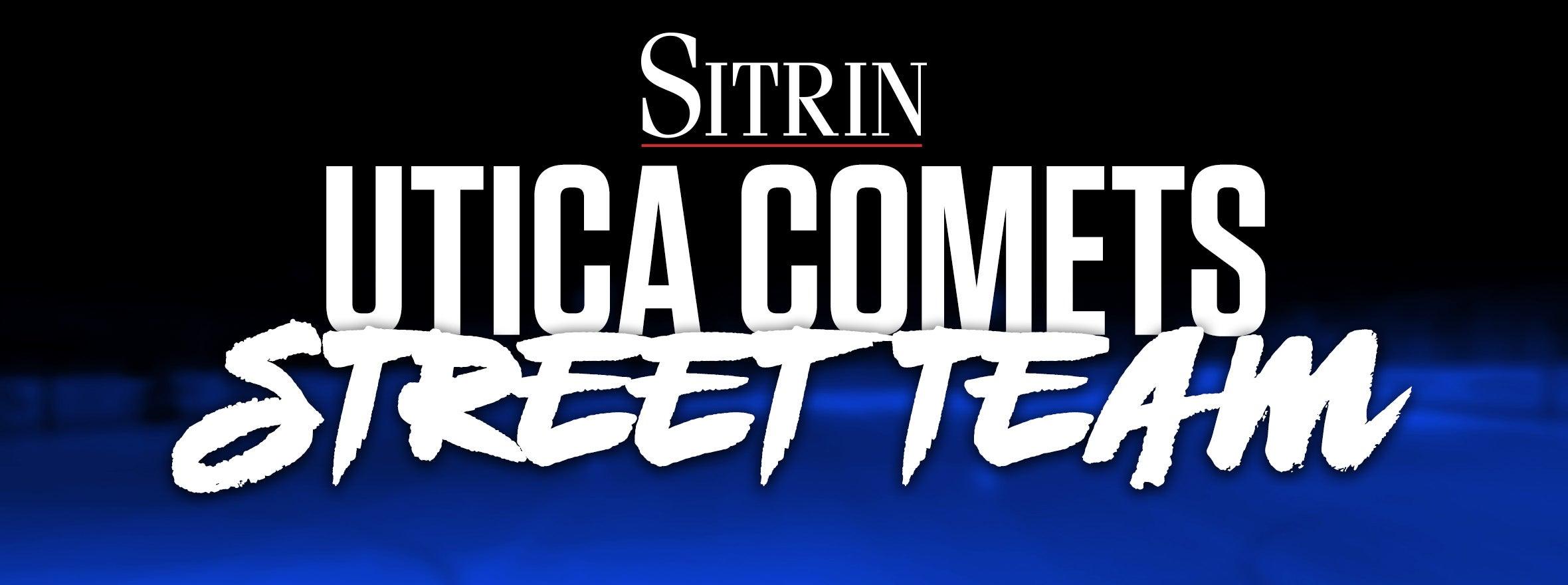 COMETS ADD RAINMAN AND SITRIN STREET TEAM