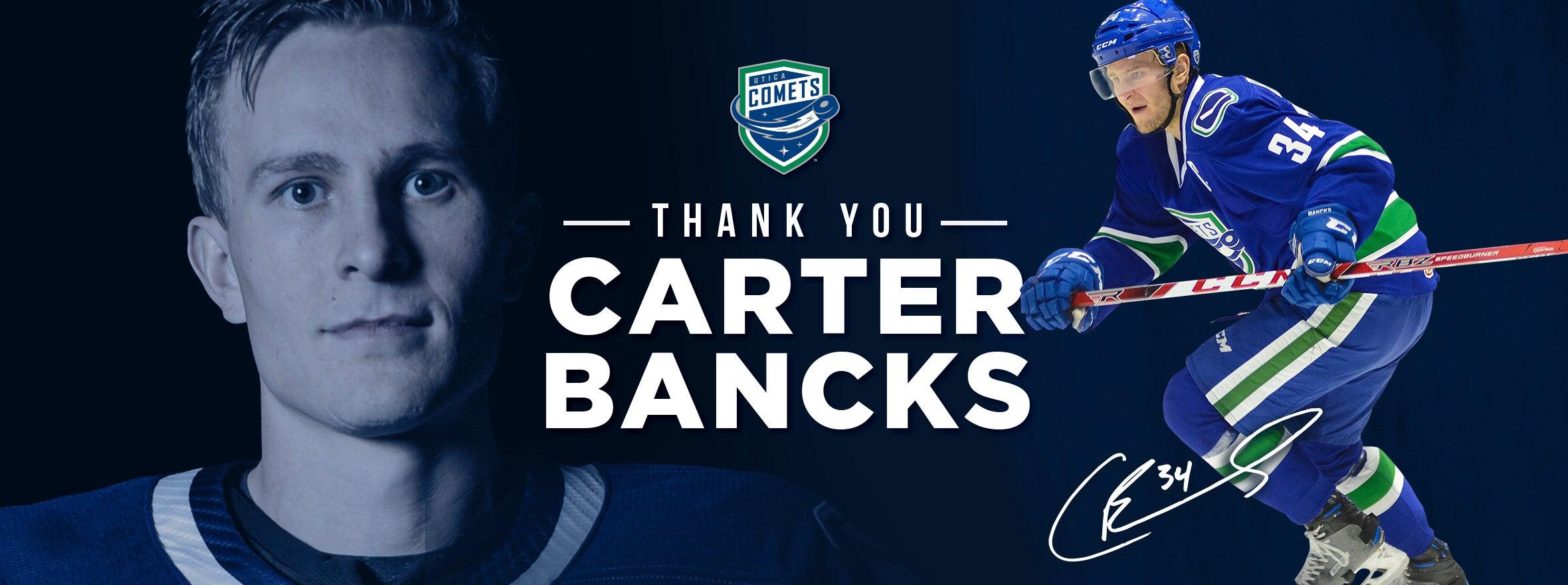 Thank You Carter Bancks