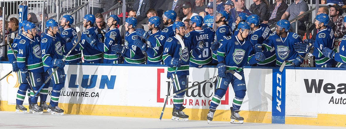 COMETS ACTION COMING TO NHL NETWORK