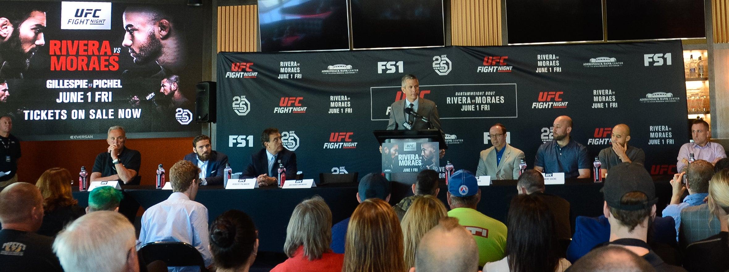 UFC NEWS CONFERENCE KICKS OFF FIGHT WEEK
