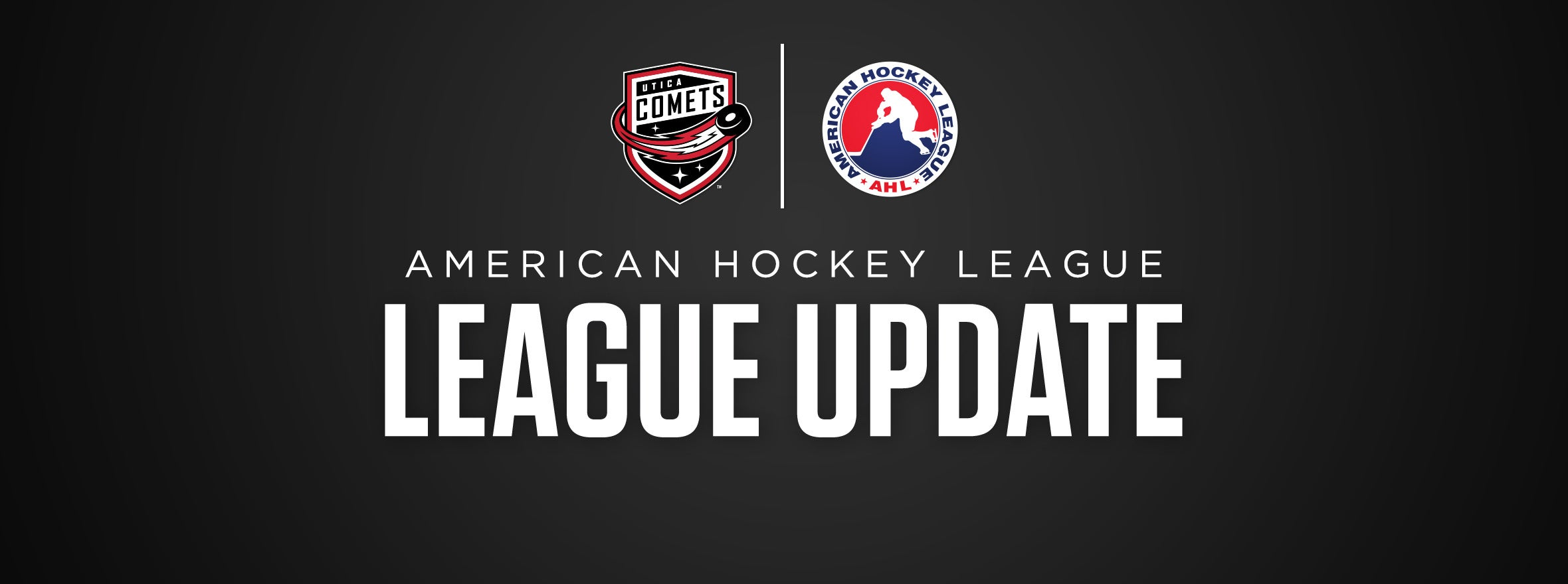 AHL RELEASES LEAGUE UPDATE